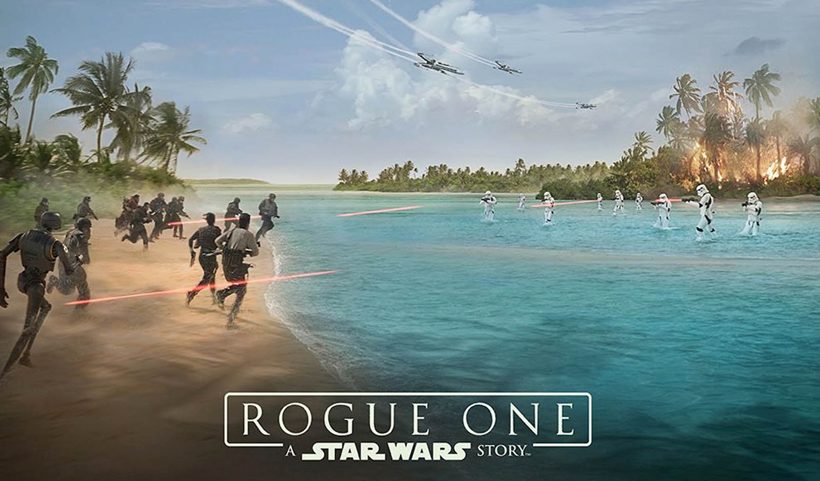 Star Wars Rogue One Battle Concept Art Wallpaper 6260 Fellowship